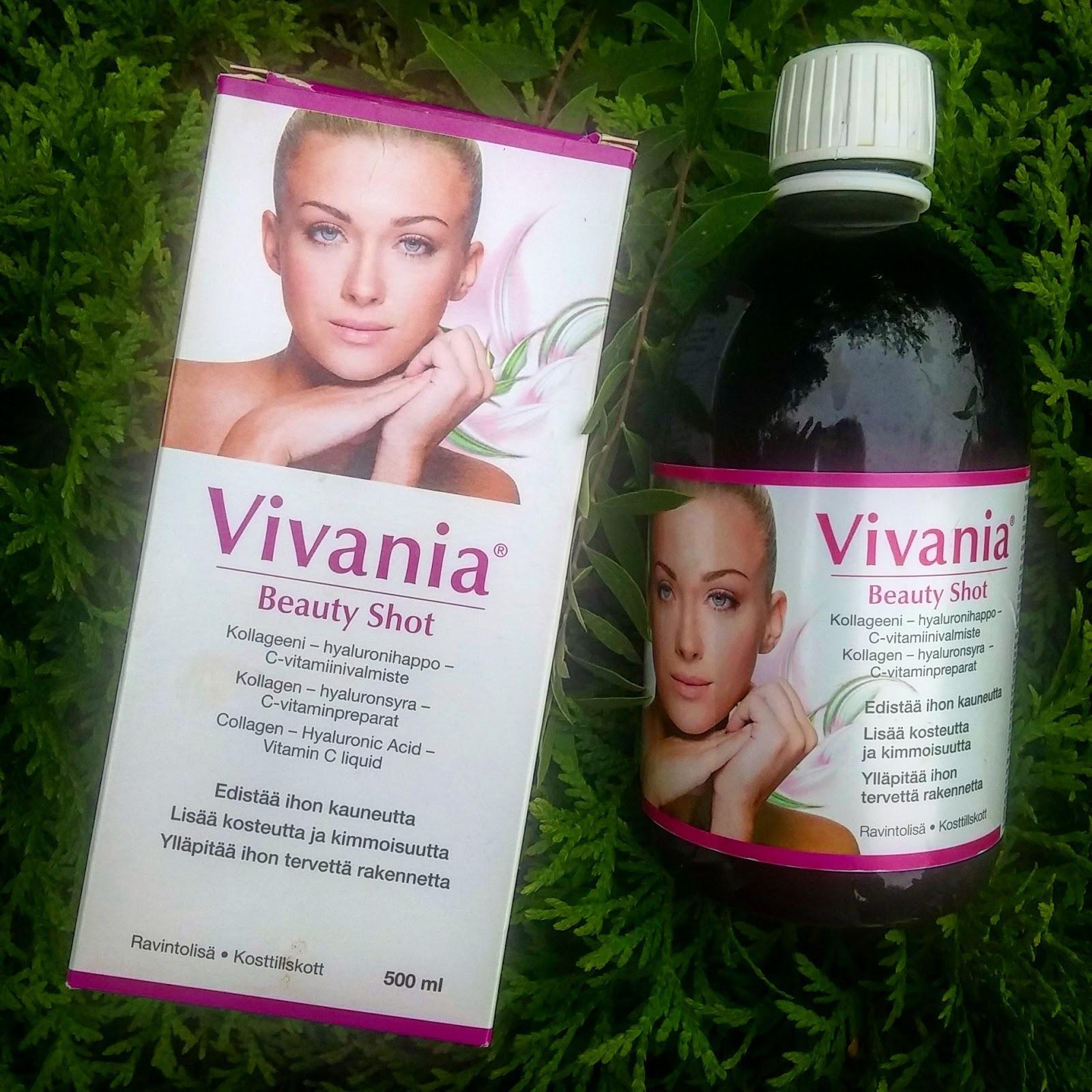 Vivania, kauneudenhoitoa sisäisesti nautittuna!