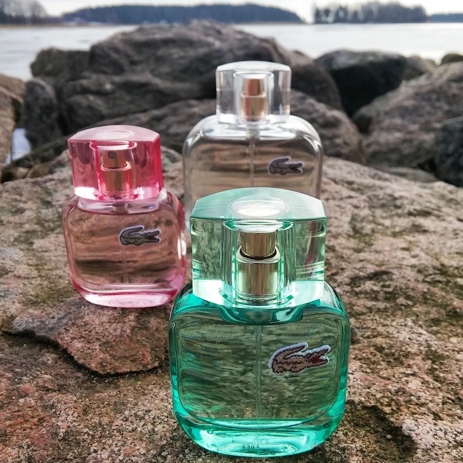 Blogi 2-vuotta ja arvonnassa hienostunut Lacoste L.12.12 POUR ELLE Natural tuoksu!