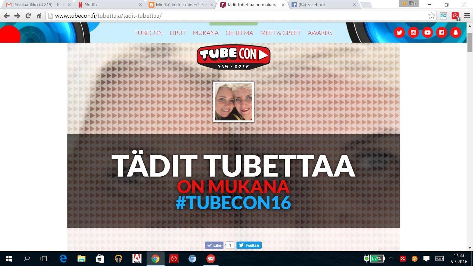 Päihittääkö vlogit kohta blogit, tänään Tubeconiin!