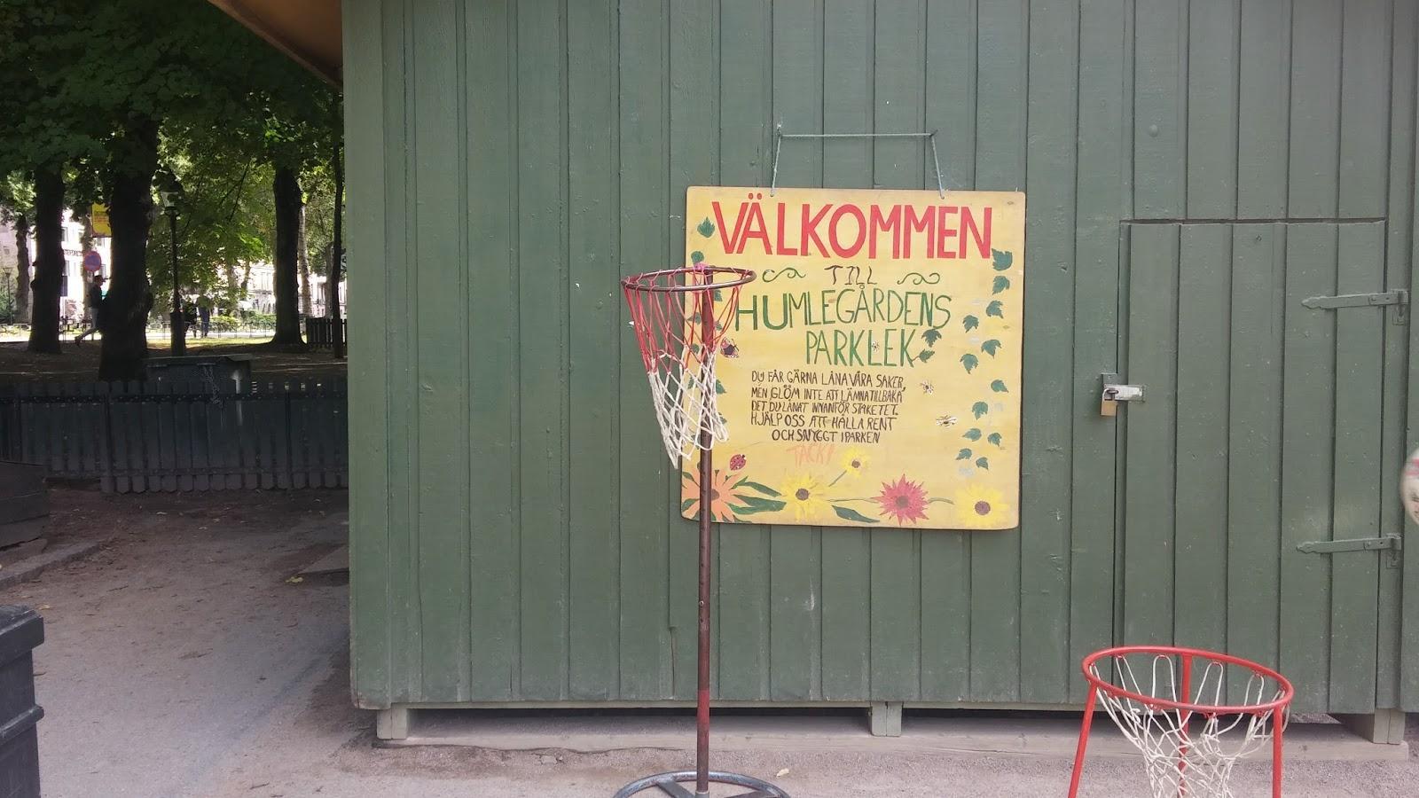 Humlegården, mahtava leikkipuisto Tukholmassa!