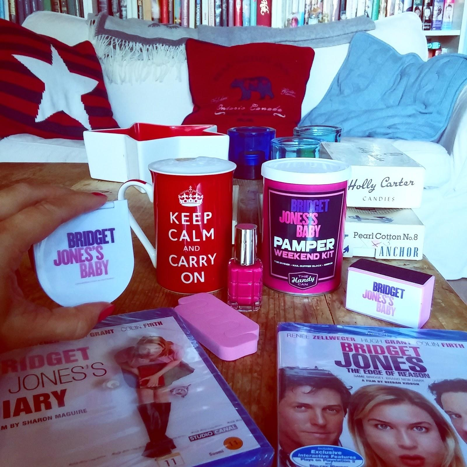 Bridget Jones arvonnan voittaja nyt blogissa!