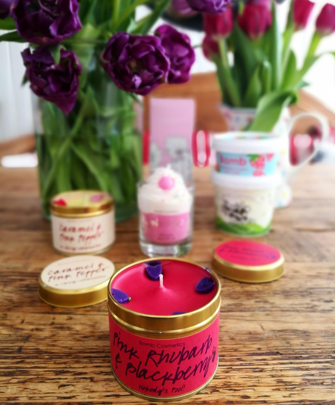 Bomb Cosmetics, suloista käsintehtyä kosmetiikkaa ja tuoksukynttilöitä!