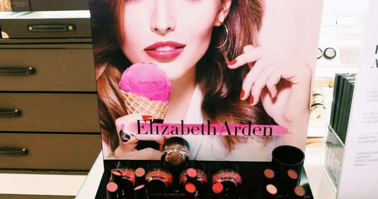 Elizabeth Arden meikkaus ja ennen ja jälkeen kuvat!