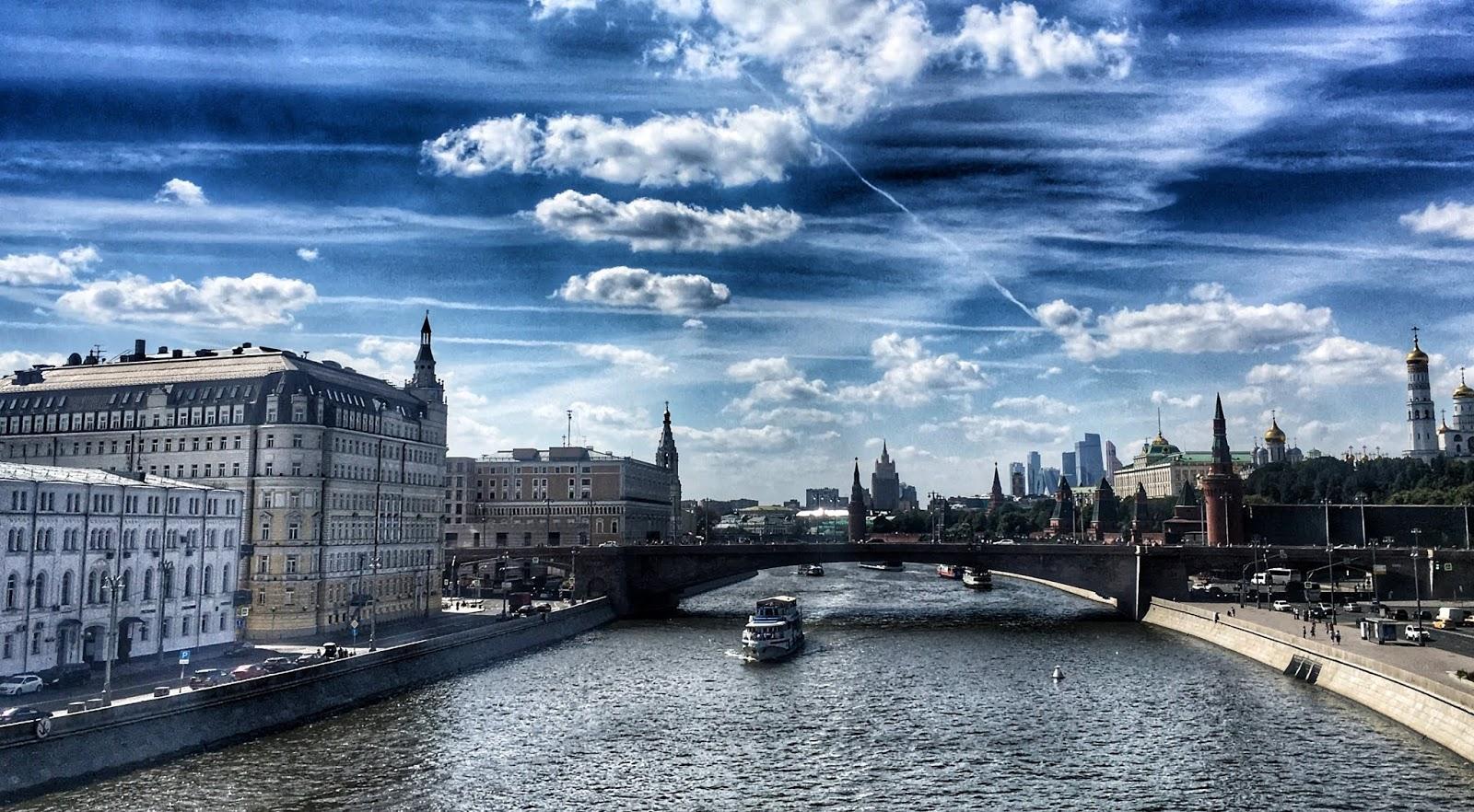 Moskovan maisemat ja herkut