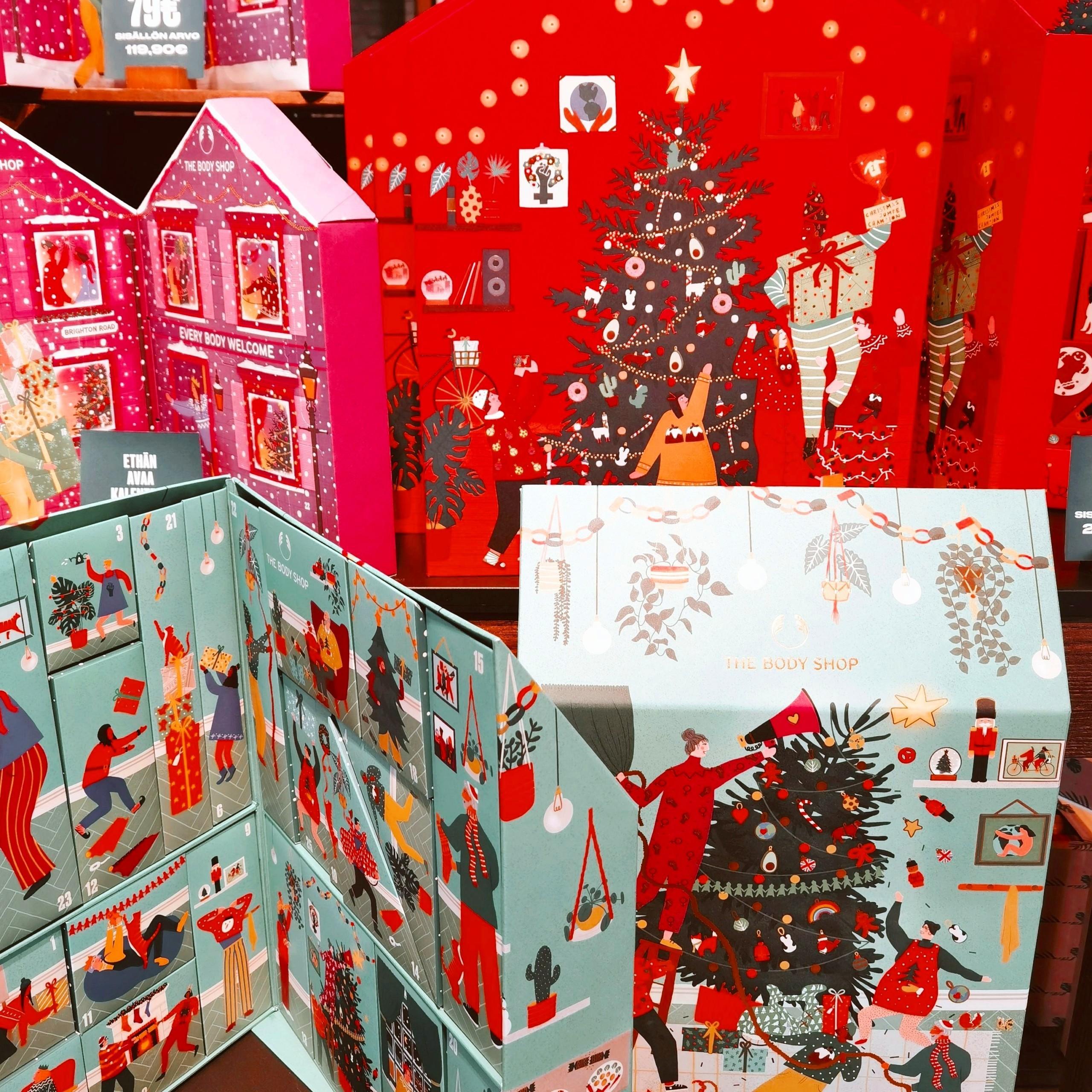 The Body Shopin joulu on täällä ja joulukalenteriarvonta!